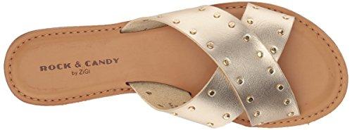 Rock & Candy Women's Bradi Sandal Gold T1YOY2si