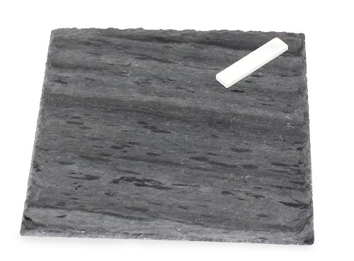 J.K. Adams Strata Slate Cheese Tray, Square, 8-inches For Sale