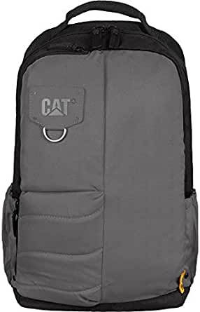 Caterpillar Backpack for Unisex, Black and Gray, 83441-172