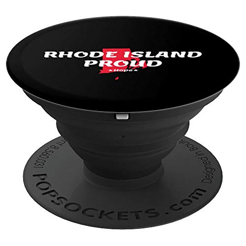Rhode Island Motto - Rhode Island Proud State Motto - Hope PopSockets Grip and Stand for Phones and Tablets