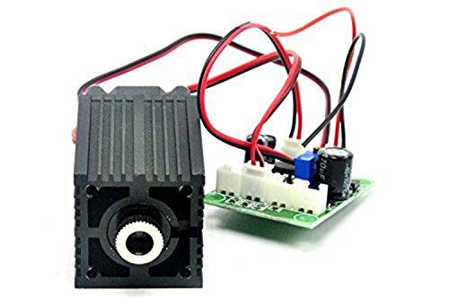 808nm IR Diode Laser 300mw 12V Focusable Dot Laser Module w/Adapter (808 Nm Laser Diode)
