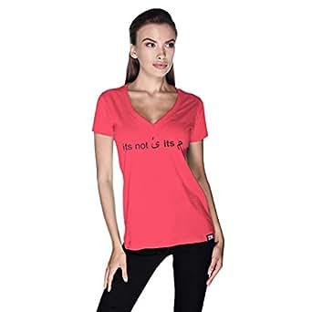 Creo T-Shirt For Women - M, Pink