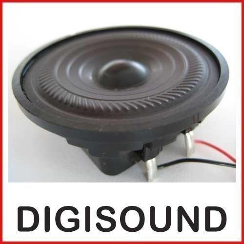 Digisound Mini haut-parleur avec ré sistant aux intempé ries Membrane en plastique Haut-parleurs d'aigus 0, 8 Watt 45 Ohm modè le : 9LS 8 Watt 45 Ohm modèle : 9LS