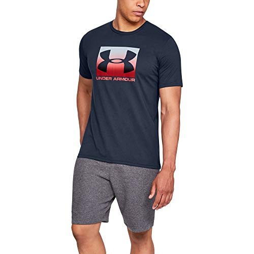 Under Armour Men's Boxed sportstyle Short sleeve, Academy (408)/Red, XX-Large