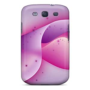 AngelaMs Scratch-free Phone Case For Galaxy S3- Retail Packaging - Wonderful Abstract Design