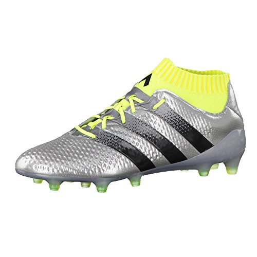 buy online ef6c2 af161 ... new zealand adidas de los hombres ace 161 primeknit zapatos de fútbol  de plata fg 0a0bc