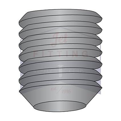 "#5-40 x 1//8/"" Qty 50 Socket SET // GRUB SCREWS Cup Point Black Alloy Steel"