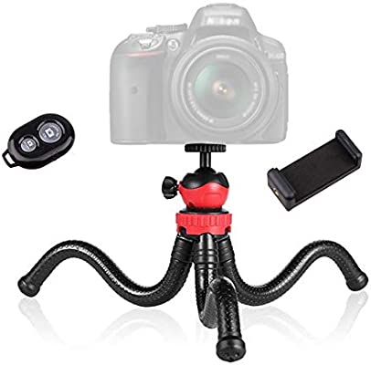 Octopus Tripod Portable Mobile Phone Holder for Live Broadcast DSLR Photography Floor Tripods