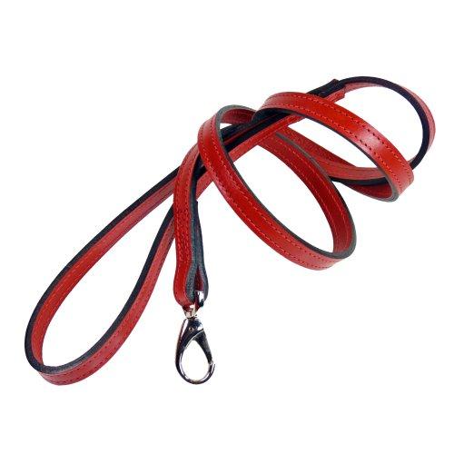 hartman-rose-10209-barclay-dog-lead-1-2-inch-ferrari-red
