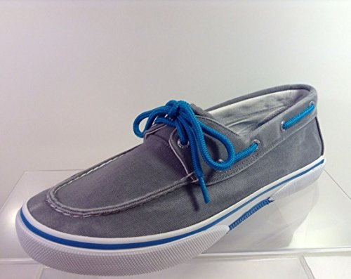Sperry Halyard 2-Eye Grey/Blue Sneacker Herren