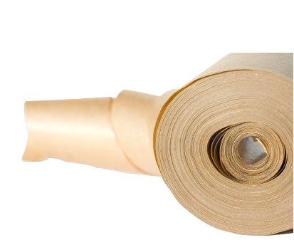 Gummed Kraft Sealing Paper Tape, Reinforced, 3'' x 450', Industrial Grade 20 rolls by PackagingSuppliesByMail (Image #1)