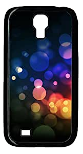 Samsung Galaxy S4 I9500 Cases & Covers - Colorful Abstract N002 PC Custom Soft Case Cover Protector for Samsung Galaxy S4 I9500 - Black