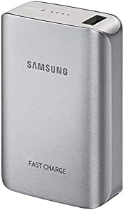 Samsung EB-PG935 Fast Charging Battery Pack - 10200 mAh, Silver