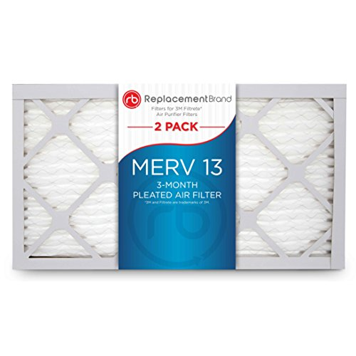 ReplacementBrand 8 x 13 x 1 MERV 13 Air Filter Replacement for FAPF04 (4 Away)