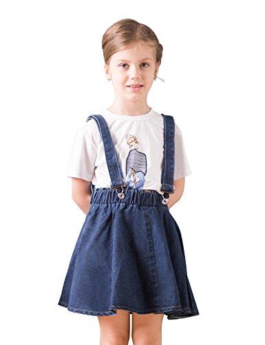 Just A Girl Denim Skirt - 3