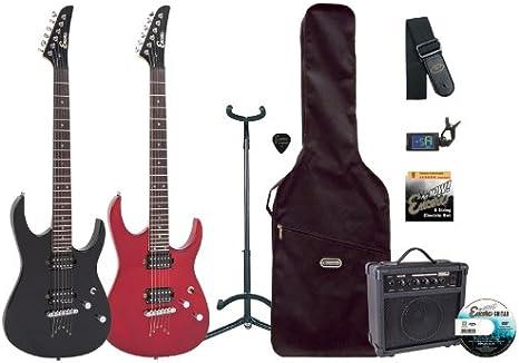 Encore EBP-E89TRD - Kit de guitarra eléctrica (pastillas humbucker ...