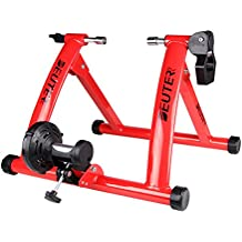 Bike Trainer Stand, Magenetic Resistance Indoor Bike Riding Stand with Noise Reduction Technology by DEUTER
