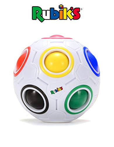 Best Rubik's Cube Rainbow Ball Color Matching Puzzle, Fun Addictive Educational Toy Gift for Adults  4+ Kids, Develop Hands-On, Memory, Critical Thinking  Problem Solving Skills (White)