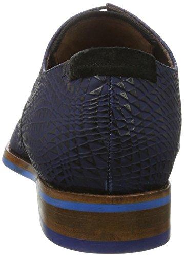Bommel 802 Derby 01 Scarpe Print D Blue 027 Blu 18003 van Floris Uomo 5PwXBB