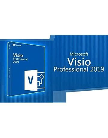 Amazon com: Visio Professional 2019 32/64 Bit Download