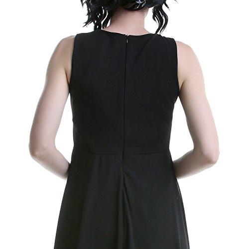 Vestido Negro con Tul