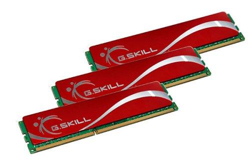 G.SKILL 6GB (3 x 2GB) 240-Pin DDR3 SDRAM DDR3 1600 (PC3 12800) Triple Channel Kit Desktop Memory Model F3-12800CL9T-6GBNQ - Retail