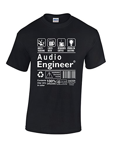 Crazy Bros Tee's Audio Engineer - I'm Audio Engineer I solve problems Funny Men's T-Shirt