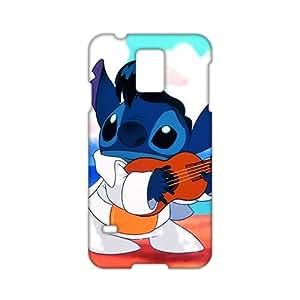 Angl 3D Case Cover Cartoon Lilo & Stitch Phone Case for Samsung Galaxy s 5 wangjiang maoyi