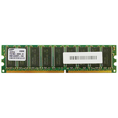 Edge Memory 512mb (1x512mb) Pc2100 Ecc Unbuffered 18