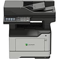 Lexmark 36S0800 MX521ade Monochrome All-In One Laser Printer, Scan, Copy, Network Ready, Duplex Printing and Professional Features