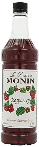 Monin Raspberry 33 8 Ounce Plastic Bottle product image