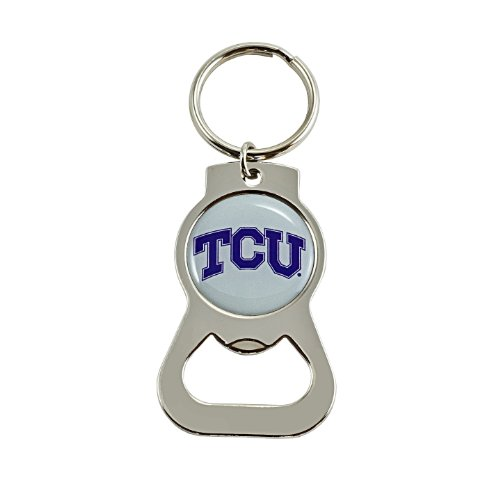 Tcu Horned Frogs Bottle - aminco NCAA TCU Horned Frogs Bottle Opener Key Ring