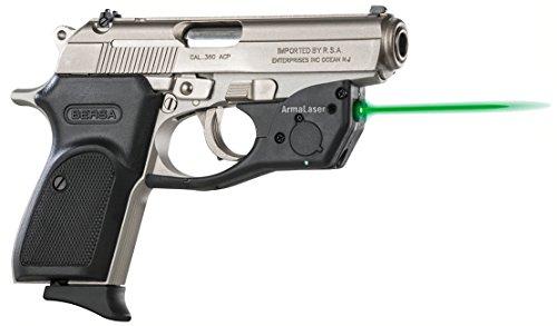 ArmaLaser Bersa Thunder 380 TR16G Super-Bright Green Laser Sight with Grip Activation