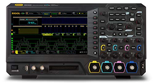 Rigol MSO5204 - Four Channel, 200 MHz Digital/Mixed Signal Oscilloscope