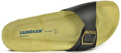 Marine Chaussures Sanosan Femmes Malaga Sandales Cuir qw6TF51xw