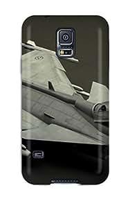 4110328K28393090 premium Phone Case For Galaxy S5/ Aircraft Tpu Case Cover