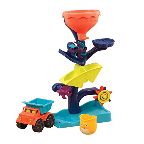 B. toys – Owl About Waterfalls Water Wheel – Sand-and-Water Sifting Tunnel for Kids 18 ()