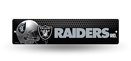 NFL Oakland Raiders High-Res Plastic Street Sign