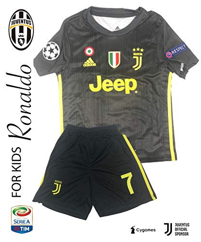 9299697c7a5 The Soccer Jersey and Short for Kids on Season 2019 - Best Soccer KIT for  Kids - Juventus Ronaldo 7 - Barcelona FC 10 Messi - Real Madrid 10 Modric
