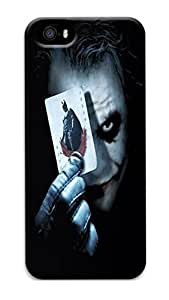 iPhone 5S Cases & Covers VUTTOO Why So Serious The Joker Custom PC Hard Case Cover for iPhone - 5S
