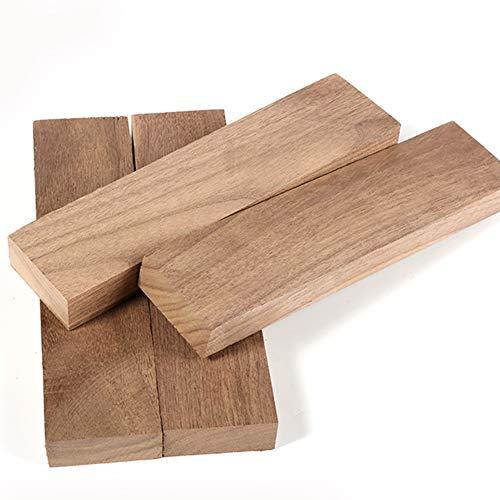 Walnut Block (tong gu Spoon Carving Wood Blanks Black Walnut Woodturning Woodworking DIY Craft 7.9''X2''X0.8'' (Pack of 4))