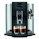 Jura 15097 Automatic Coffee Machine E8, Chrome