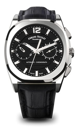 Armand Nicolet Men's J09 Collection A654AAA-NR-PI4650NA