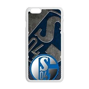HDSAO The Deutschland Fussball FC Gelsenkirchen Schalke 04 Cell Phone Case for Iphone 6 Plus by ruishername