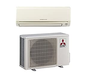 Mitsubishi   Mini Split Heat Pump Inverter   9K   9000 BTU   18 SEER (15000  BTU)