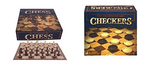 マスターおもちゃTraditionalチェスとチェッカーボードゲーム