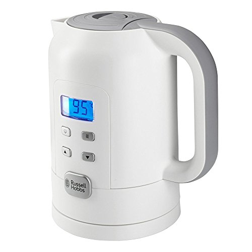 Russell Hobbs Precision Control - Hervidor de Agua Electrico (1,7 litros, Plastico, 2200 W, Blanco) - ref 21150-70