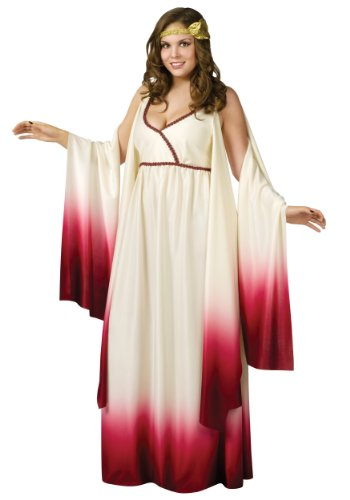 [Venus Goddess of Love Plus Size Costume] (Roman Goddess Accessories)