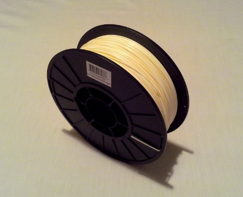 UPC 616453075214, Filament Outlet Natural HIPS 1.75mm 3D Printer Filament 1kg (2.2lbs) spool USA