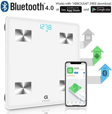 Amazon.com: Báscula - bluetooth báscula inteligente de grasa ...